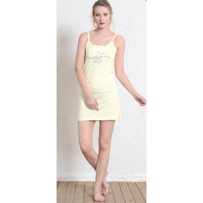Туника женская LITTLE BABY 409183 4011 цвет светло-жёлтый, р-р 48 (L)