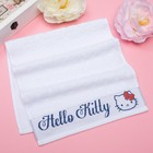 Полотенце детское Hello Kitty 50х90 см, цвет белый 100% хлопок, 400 г/м² - фото 105552462