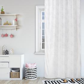 Комплект штор Hello Kitty, 150х270 см - 2 шт., цвет белый вуаль