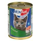 Влажный корм MonAmi  для кошек, индейка, ж/б, 350 г
