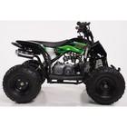 Детский квадроцикл бензиновый MOTAX GEKKON 70 cc, черно-зеленый