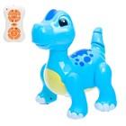 Робот радиоуправляемый, интерактивный «Динозаврик», русское озвучивание, световые эффекты, цвета МИКС