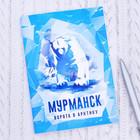 """Блокнот """"Мурманск. Медведь"""""""
