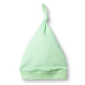 Шапка детская 'Узелок', размер 40 см, цвет салатовый M090205 Ош