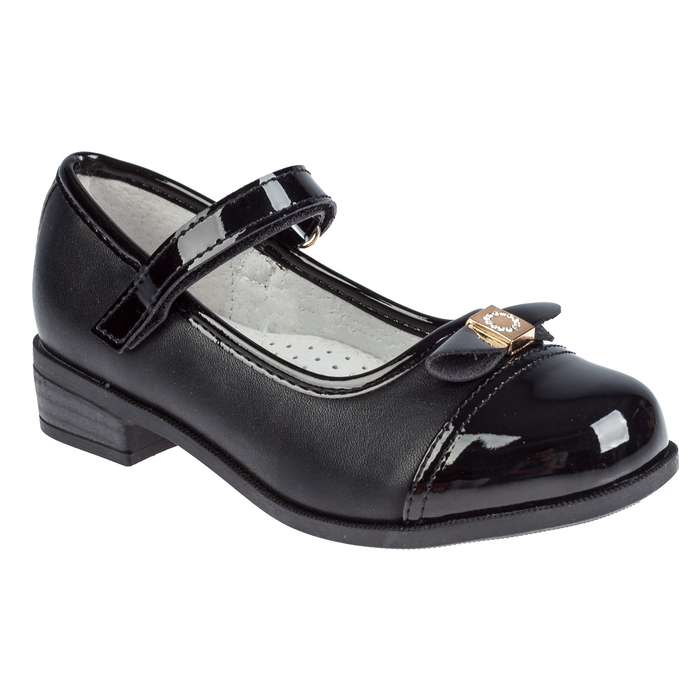 Туфли для девочки арт. SC-21065 (чёрный) (р. 29)