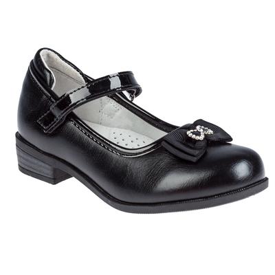 Туфли для девочки арт. SC-21068 (чёрный) (р. 28)
