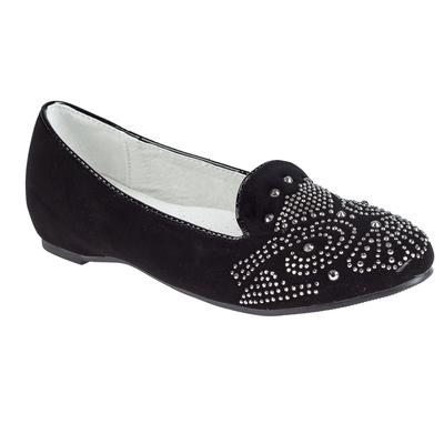 Туфли для девочек арт. SC-21431 (чёрный) (р. 34)