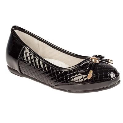 Туфли для девочек арт. SC-21437 (чёрный) (р. 38)