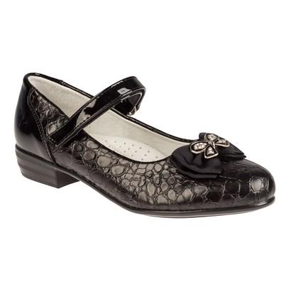 Туфли для девочек арт. SC-21449 (чёрный) (р. 35)