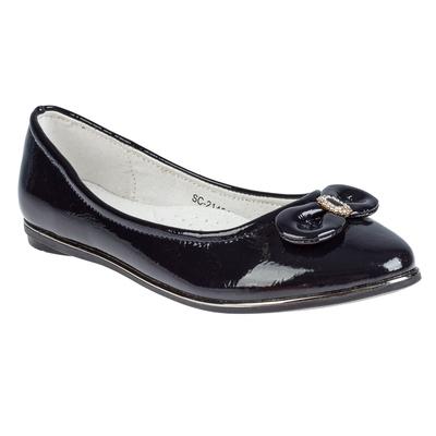 Туфли для девочек арт. SC-21454 (синий) (р. 34)