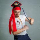 """Карнавальный костюм """"Меткий Джек"""" ободок-шляпа, термопринт, пояс, меч"""