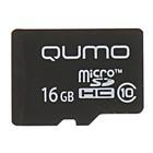 Карта памяти microSDHC Qumo 16 Гб class 10