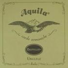 Одиночная струна для укулеле AQUILA BIONYLON 6U SINGLE сопрано, 4я G в обмотке