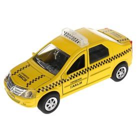 Машина инерционная 'Такси. Renault Logan', свет, звук SB-13-21-3 Ош