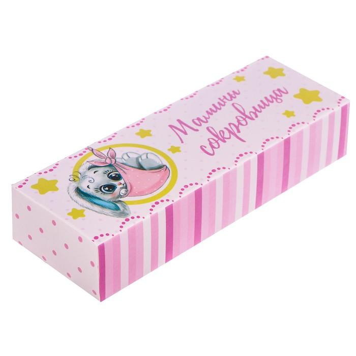 """Набор памятных коробочек для девочки """"Мамины сокровища"""""""