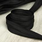 Молния рулонная «Спираль», №3, 100 м, цвет чёрный