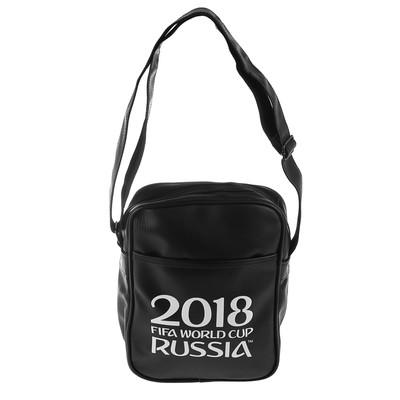 Сумка школьная 22 х 8 х 29 см «ЧМ по футболу 2018», экокожа, 1 отдел, 2 кармана