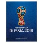 Тетрадь А5, 240 листов на кольцах «ЧМ по футболу 2018. Эмблема», твёрдая обложка