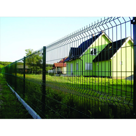 Ограждение панельное, 250 × 173 см, ячейка 200 × 55 мм, прут d = 3,5 мм, зелёное