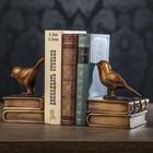 """Держатели для книг """"Скворцы"""" набор 2 шт 14,5х11х12,5 см"""