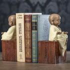 "Держатели для книг ""Маленький будда"" набор 2 шт 22х11,5х12,5 см"