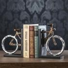 "Держатели для книг ""Велосипед"" набор 2 шт 20х7,5х16 см"
