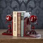 """Держатели для книг """"Глобус"""" набор 2 штуки 21х12х10,3 см"""