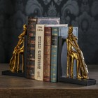 "Держатели для книг ""Контрабас"" набор 2 штуки 21,5х12,8х7 см"