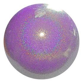 Мяч гимнастический PASTORELLI New Generation GLITTER, 18 см, FIG, цвет светло-сиреневый HV
