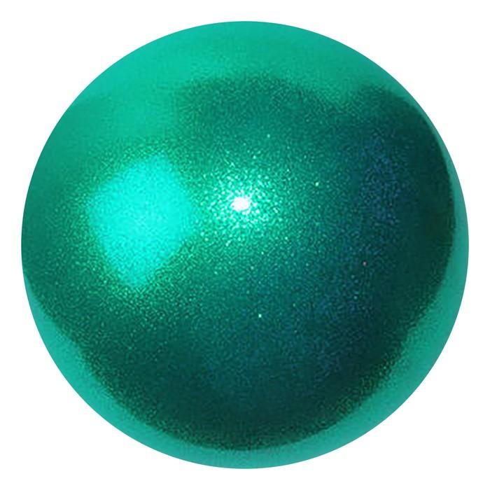 Мяч гимнастический 18 см PASTORELLI New Generation GLITTER FIG BLUE ZIRCON АВ HIGH VISION