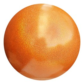 Мяч гимнастический 18 см PASTORELLI GLITTER African Sunset HV