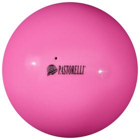 Мяч гимнастический Pastorelli New Generation, 18 см, FIG, цвет розовый/фиолетовый