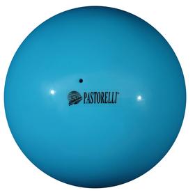Мяч гимнастический Pastorelli New Generation, 18 см, FIG, цвет голубой
