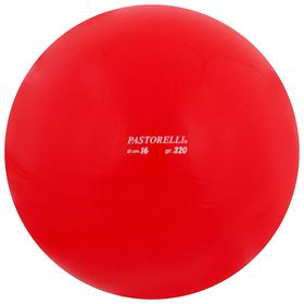 Мяч гимнастический PASTORELLI, 16 см, цвет красный