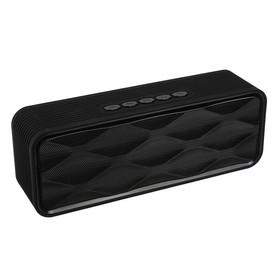 Портативная колонка Qumo X6 BT006, Bluetooth 4.0, 6 Вт, черная