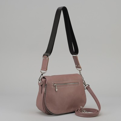 3717bf562ff4 Сумка женская, отдел на молнии, наружный карман, регулируемый ремень, цвет  лавандовый
