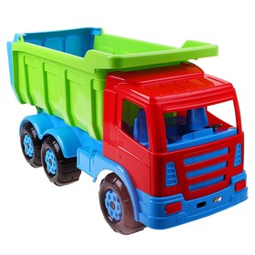 The car - the Premium dump truck, colors of MIX.