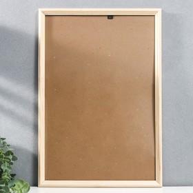 Frame 30x45 cm white wood St. No. 1
