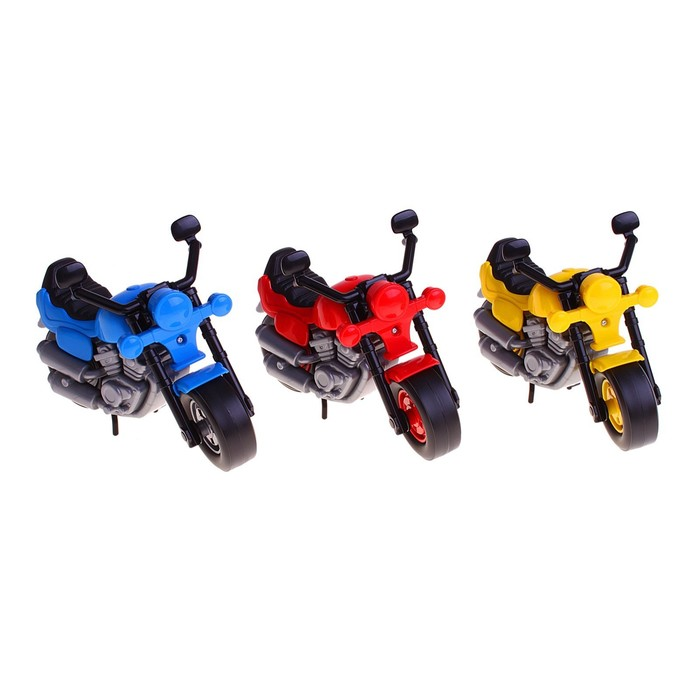 "Мотоцикл гоночный ""Байк"", цвета МИКС"