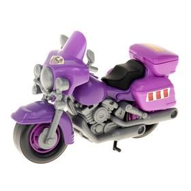 Мотоцикл полицейский «Харлей», цвета МИКС