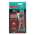 """Клей Akfix 610 """"Жидкие гвозди"""", полиуретановый, супербыстрый, 50 мл"""