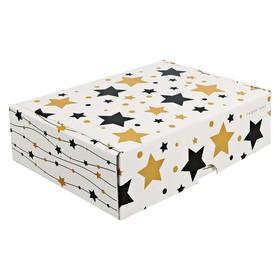 Коробка складная «Ждем зиму», 30,7 х 22 х 9,5 см Ош