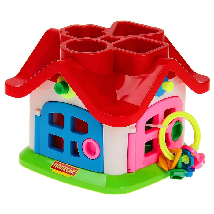 Развивающая игрушка «Логический теремок» - фото 106526685