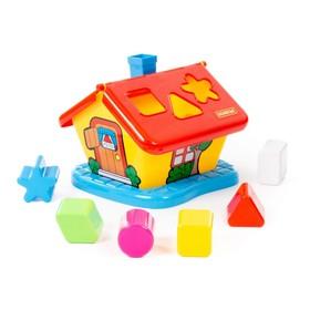 Развивающая игрушка «Садовый домик» с сортером, цвета МИКС