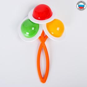 Погремушка «Букет», цвет МИКС