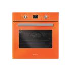 Духовой шкаф Rainford RBO-5658 PB Orange, 66 л, 8 режимов, оранжевый