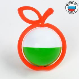 Погремушка «Яблоко», цвета МИКС