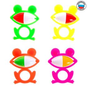 Погремушка «Лягушонок», цвета МИКС