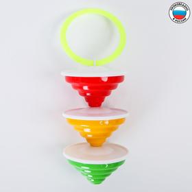 Погремушка «Юла», цвета МИКС
