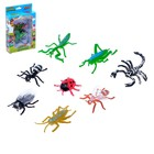 """Set of animals """"Insects"""", 8 figures"""